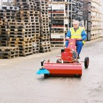 Kleensweep 101 Industrial Outdoor Sweeper