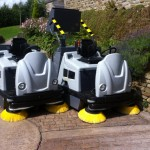 Dual Power Ride on Sweeper
