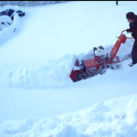 Kleensweep Snow Plough and Ride on Gritter Seat